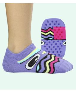 Nedrsne ABS nogavičke Sovica svetlo vijola